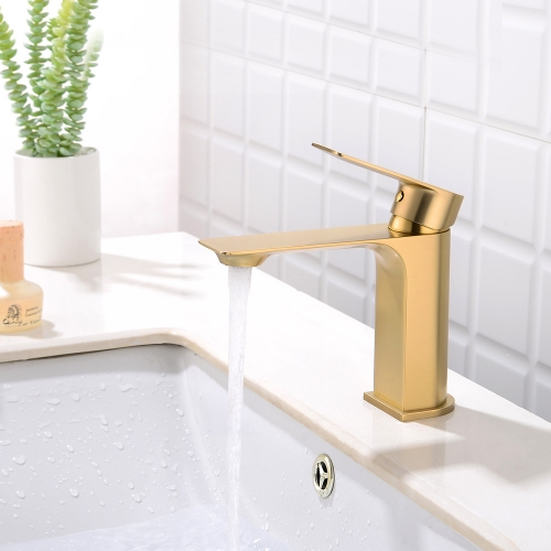 Brass Brushed Gold Kitchen Faucet Extension Hot And Cold Water Kitchen Faucets Mixer Tap Sink Bar Sink Basin Faucets